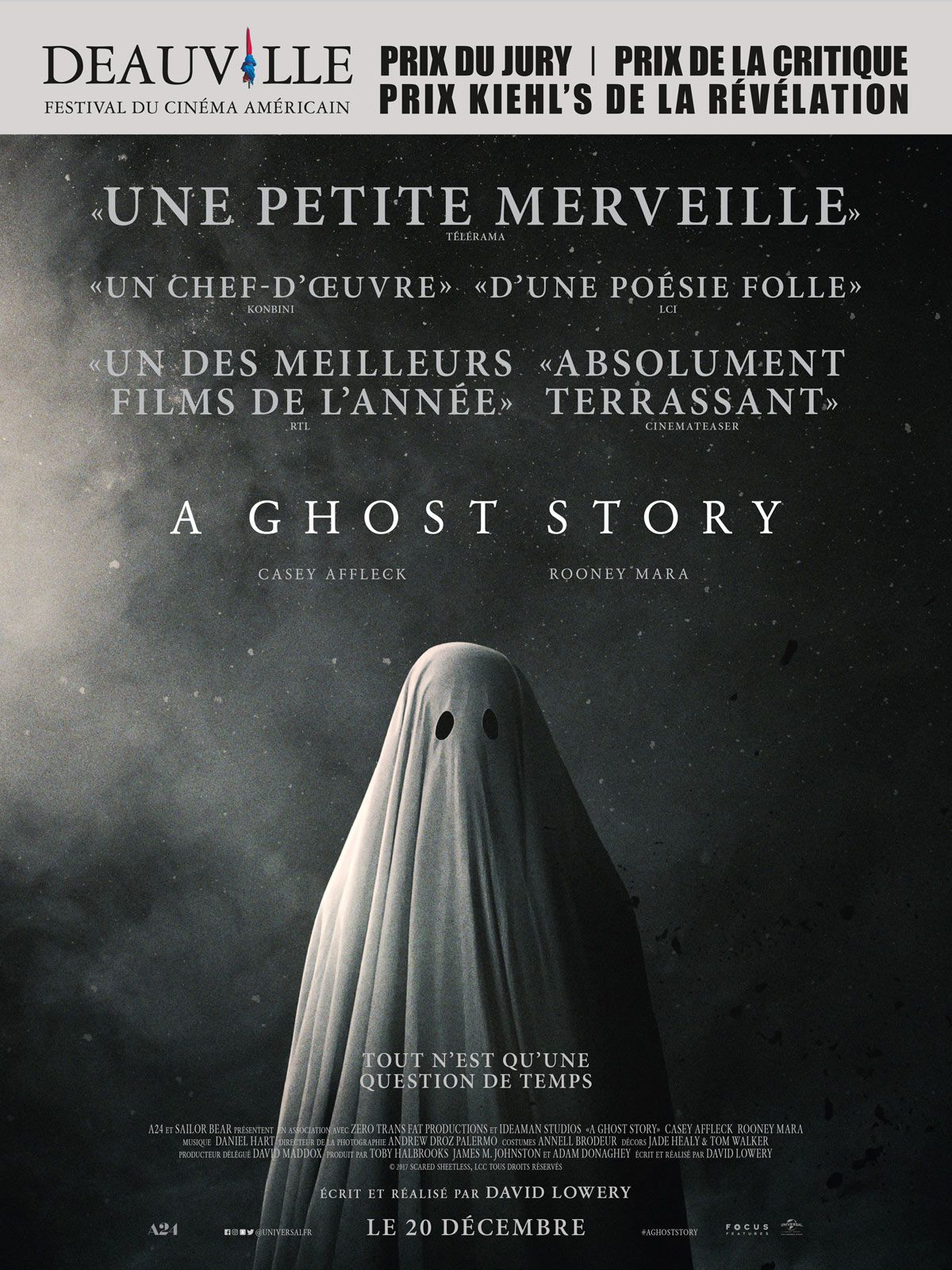 A Ghost Story - Film (2017) streaming VF gratuit complet