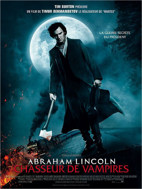 Abraham Lincoln : Chasseur de vampires - Film (2012) streaming VF gratuit complet