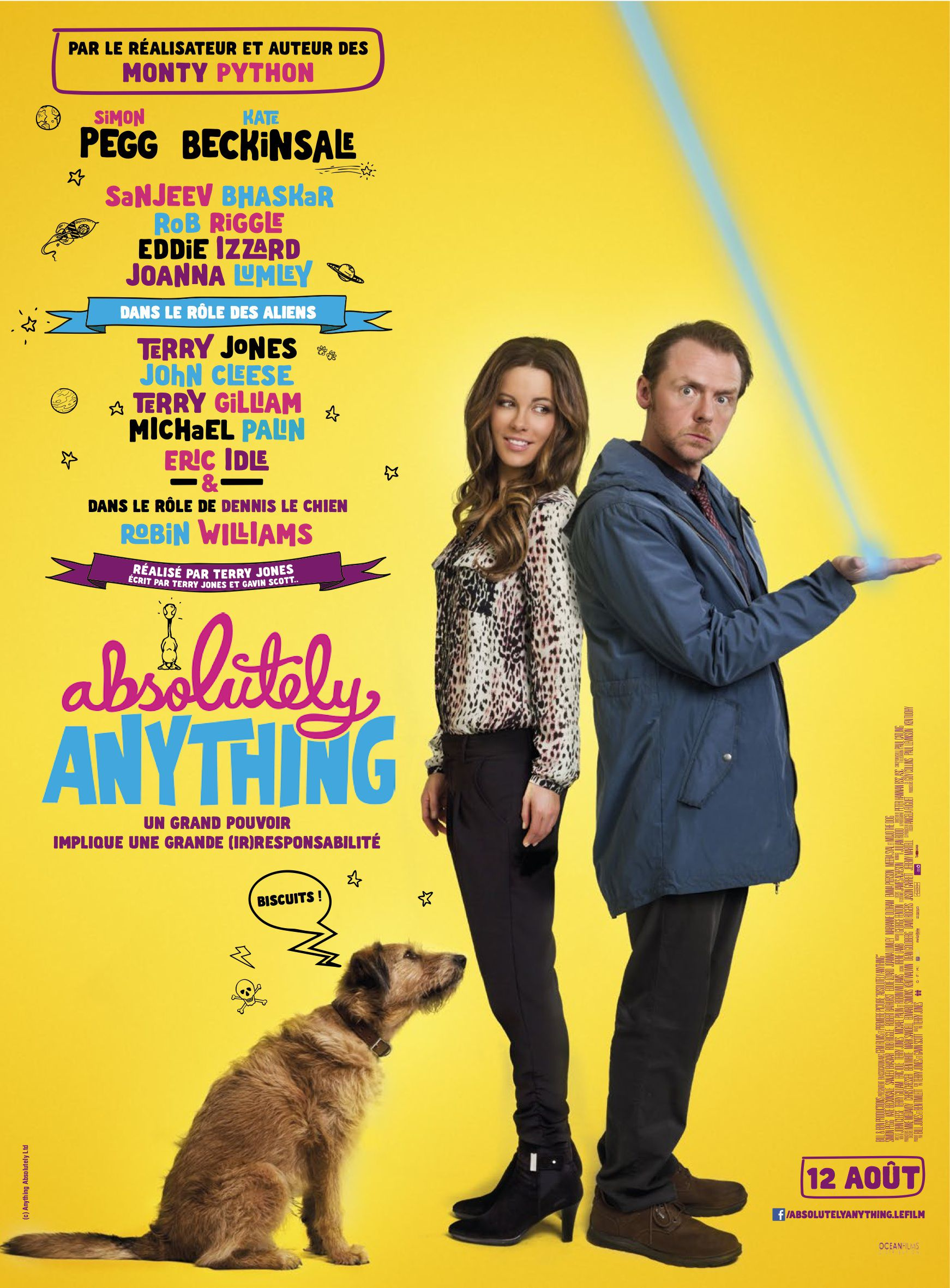 Absolutely Anything - Film (2015) streaming VF gratuit complet