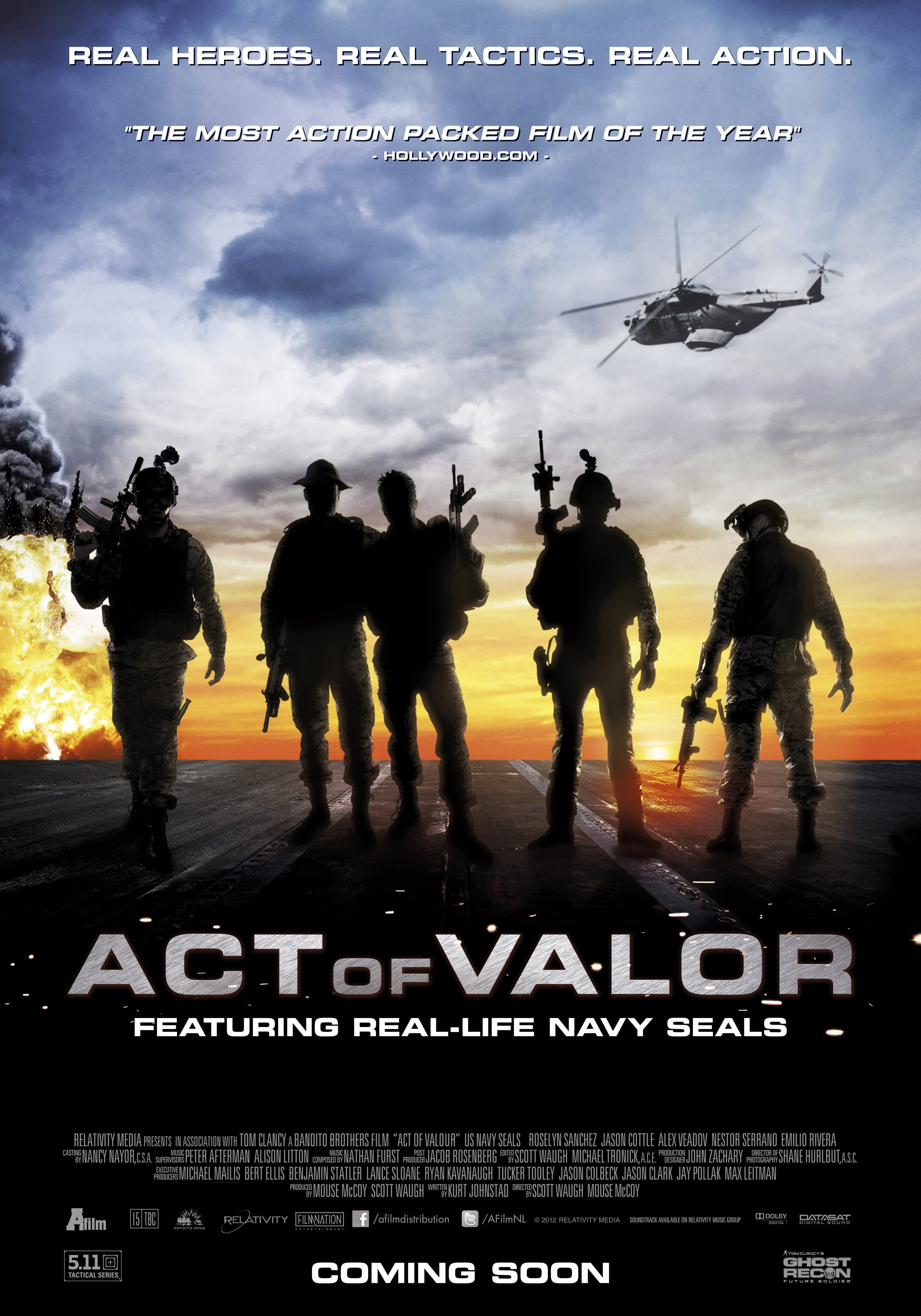 Act of Valor - Film (2012) streaming VF gratuit complet
