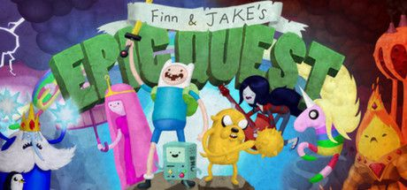 Adventure Time: Finn and Jake's Epic Quest (2014)  - Jeu vidéo streaming VF gratuit complet