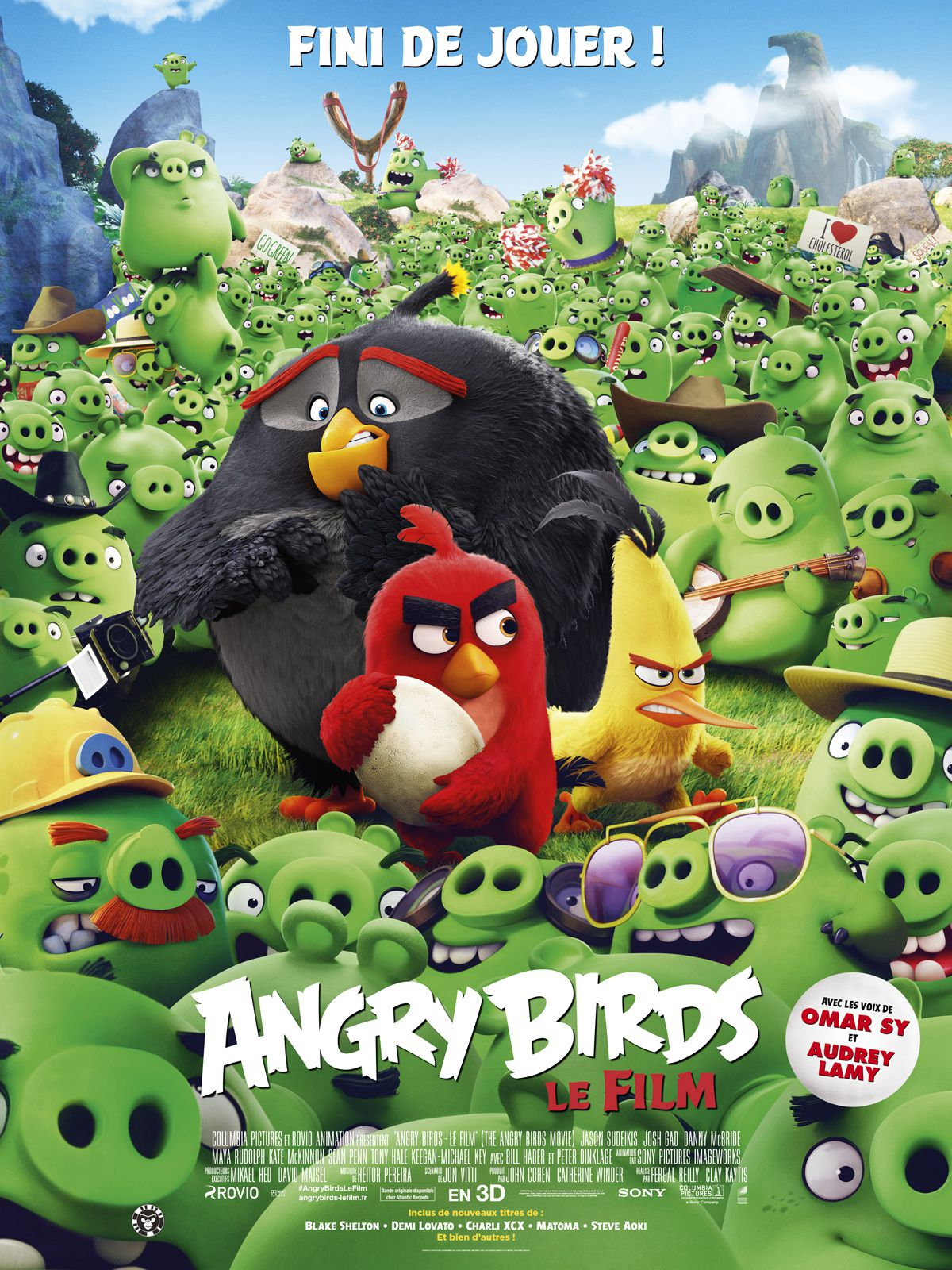 Angry Birds, le film - Long-métrage d'animation (2016) streaming VF gratuit complet