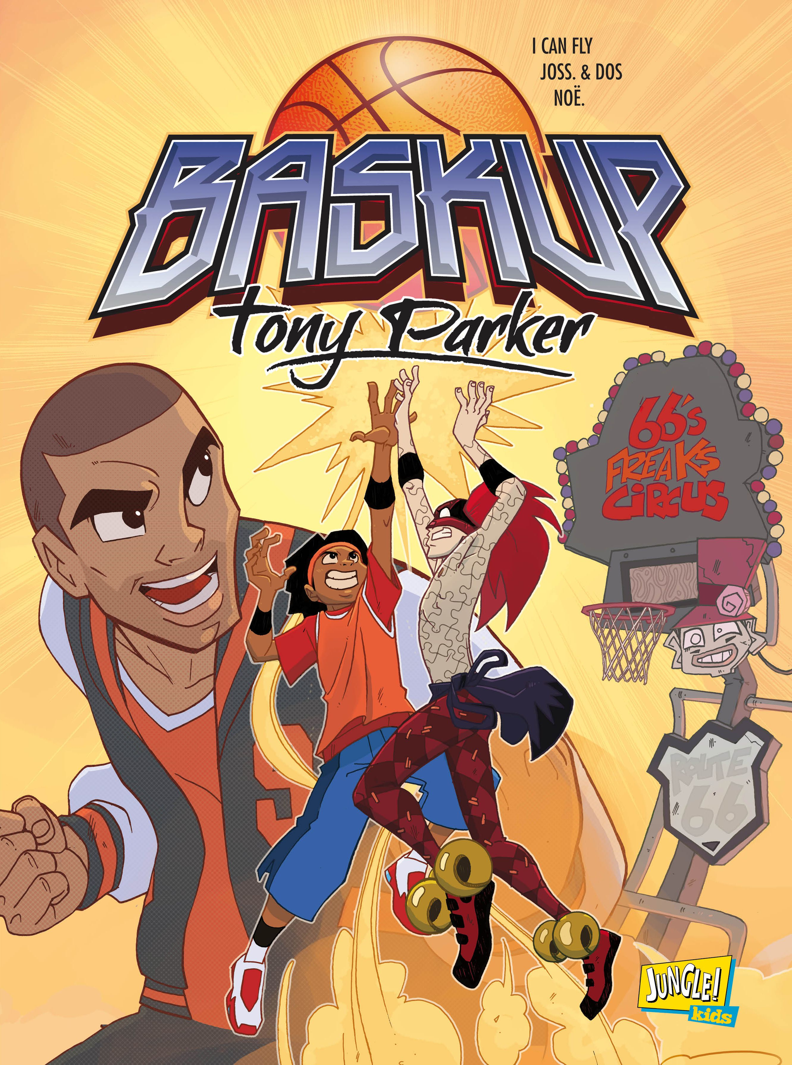 Baskup : Tony Parker - Anime (2011) streaming VF gratuit complet