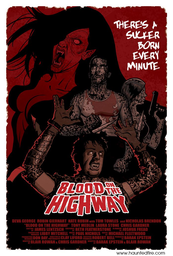 Blood on the Highway - Film (2009) streaming VF gratuit complet
