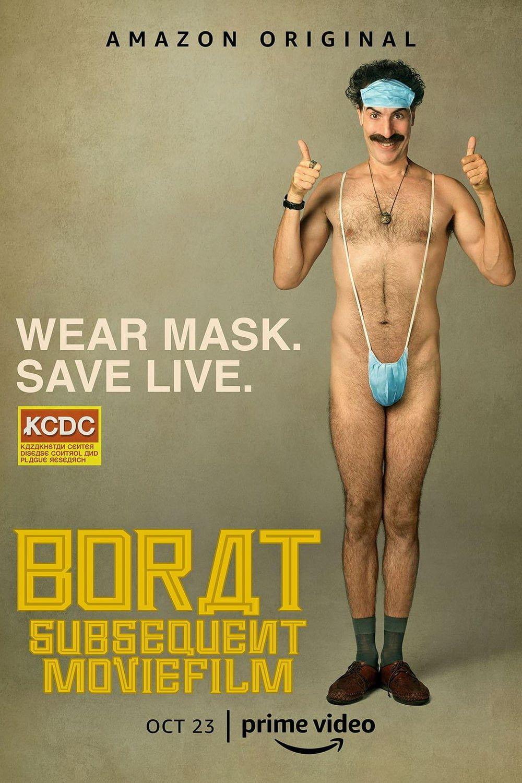 Borat, Le Film D'après : L'incroyable Subterfuge Au Régime Américain Pour Mettre En Lumière La Nation Du Kazakhstan, Jadis Si Gl - Film (2020)