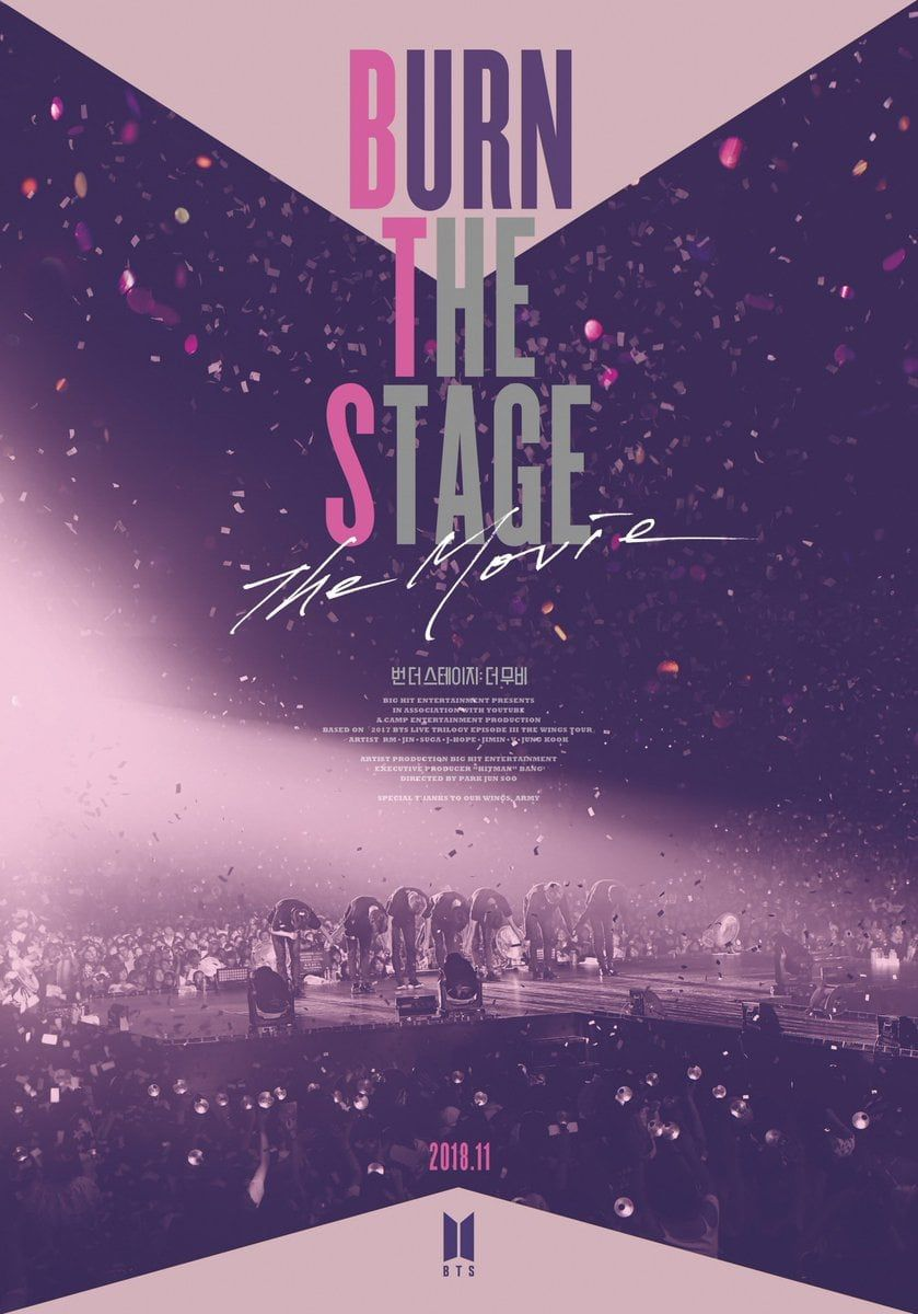 Film Burn the Stage: the Movie - Documentaire (2018)