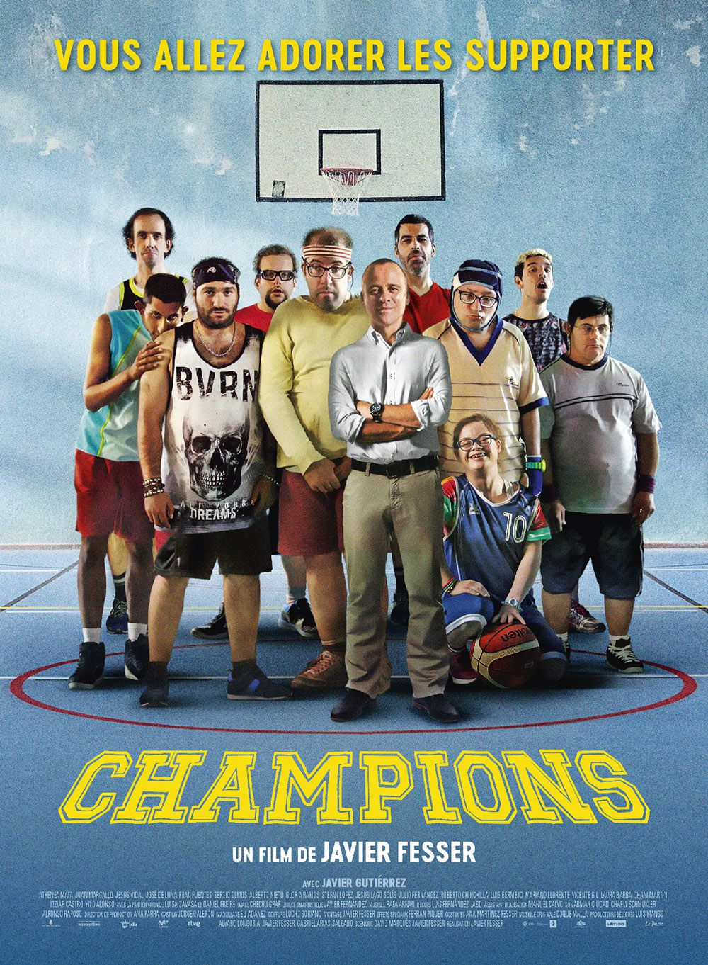 Champions - Film (2018) streaming VF gratuit complet