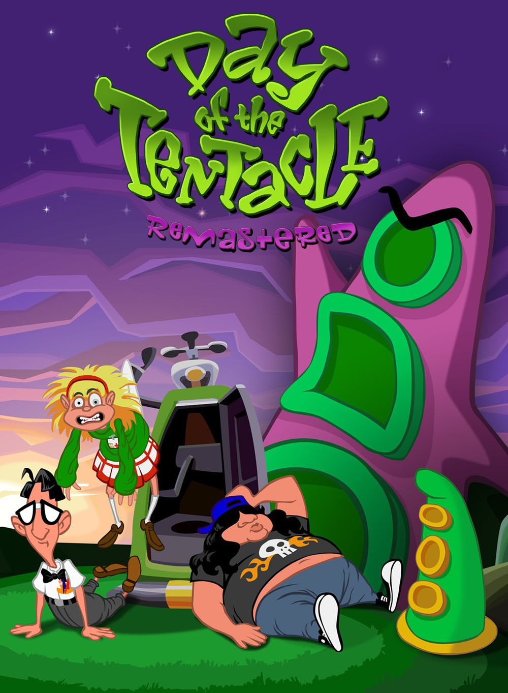 Day of the Tentacle Remastered (2016)  - Jeu vidéo streaming VF gratuit complet