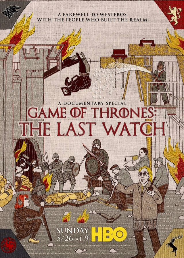 Film Game of Thrones: The Last Watch - Documentaire (2019)