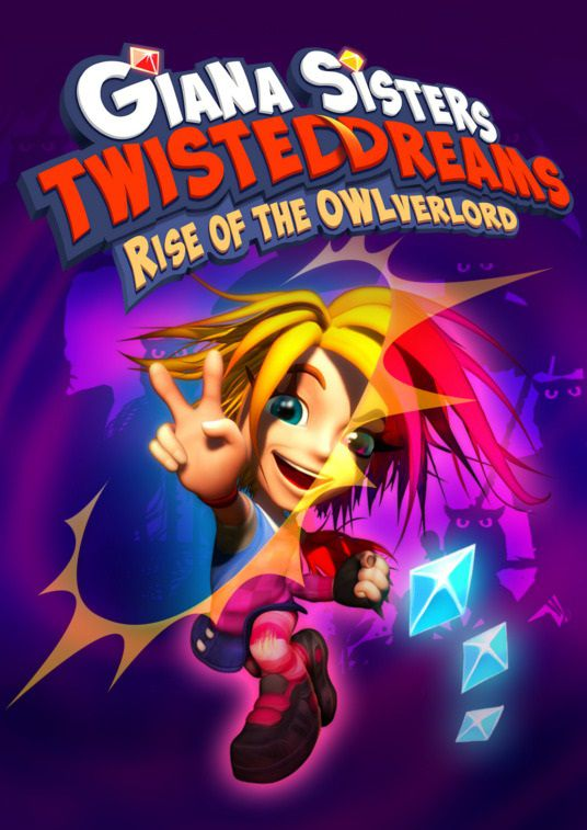Film Giana Sisters: Twisted Dreams - Rise of the Owlverlord (2013)  - Jeu vidéo