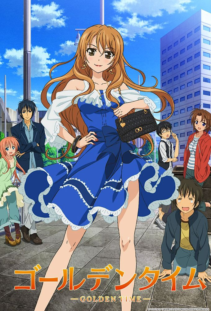 Golden Time - Anime (2013) streaming VF gratuit complet