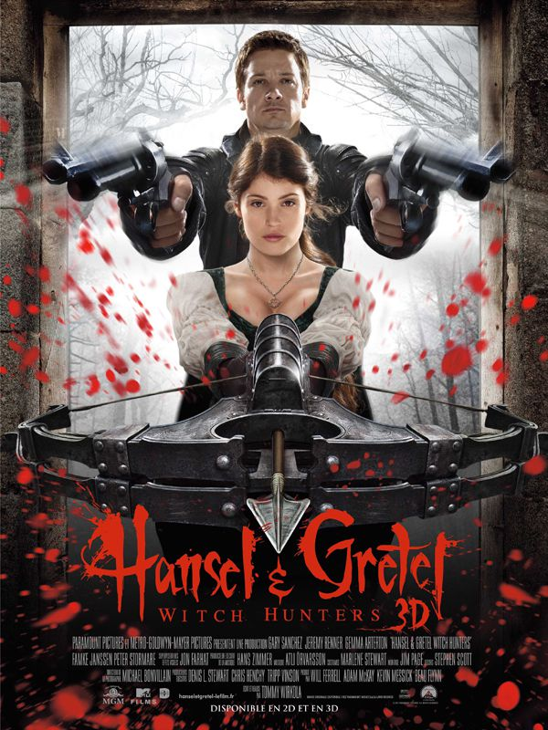 Hansel & Gretel : Witch Hunters - Film (2013) streaming VF gratuit complet