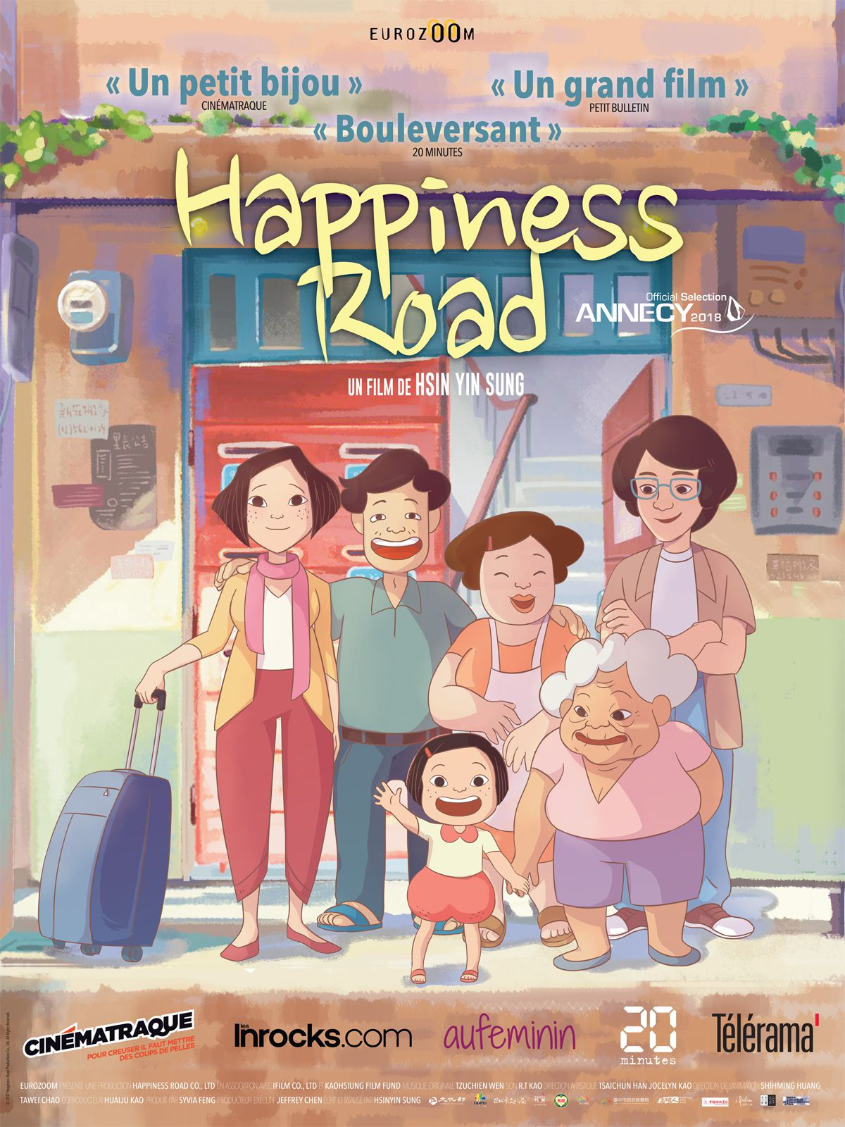 Happiness Road - Film (2018) streaming VF gratuit complet