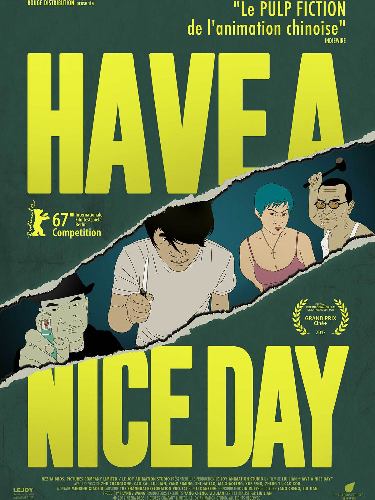 Have a Nice Day - Long-métrage d'animation (2018) streaming VF gratuit complet