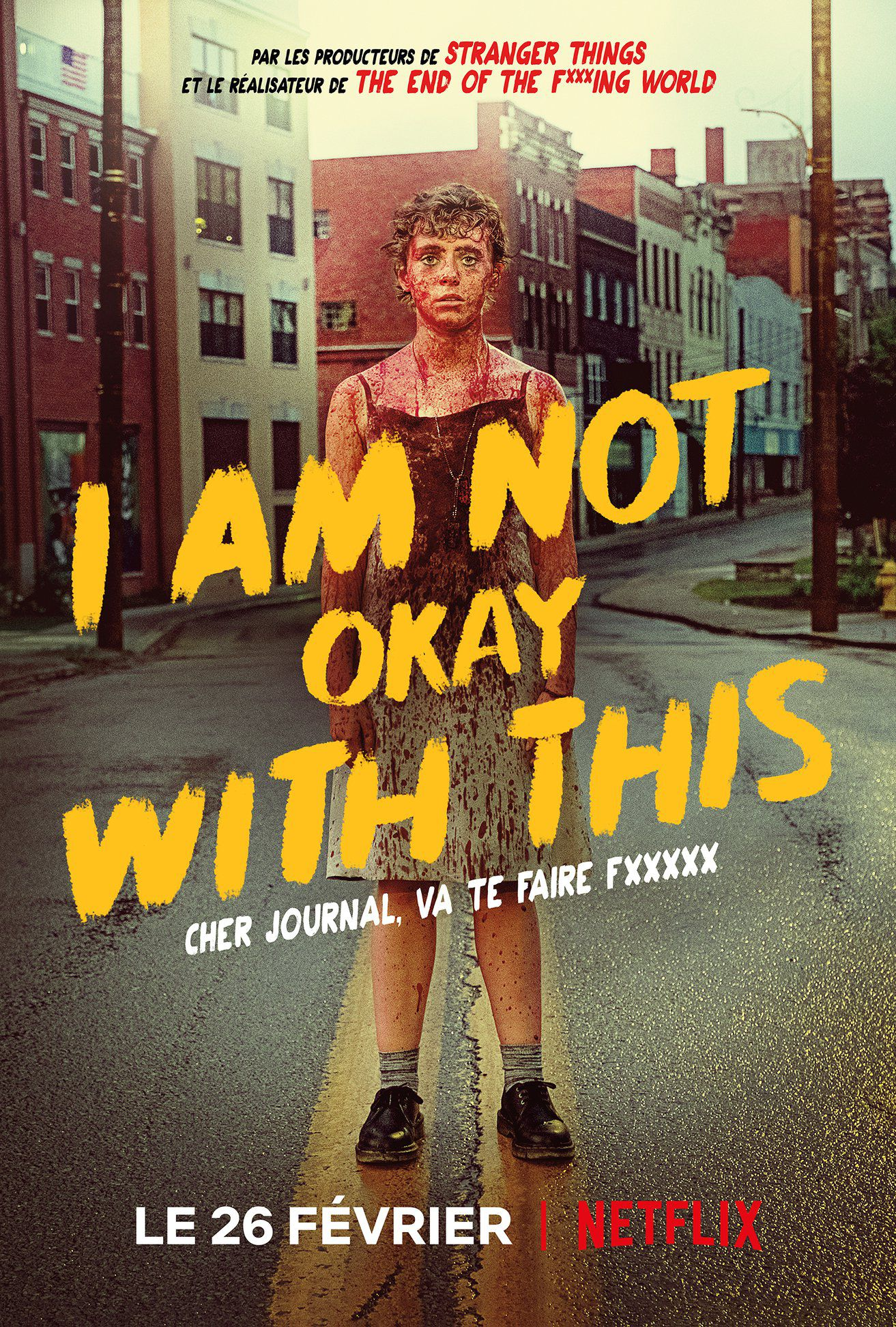 Voir Film I Am Not Okay With This - Série (2020) streaming VF gratuit complet