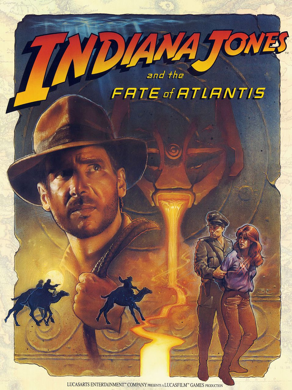 Voir Film Indiana Jones and the Fate of Atlantis (1992)  - Jeu vidéo streaming VF gratuit complet