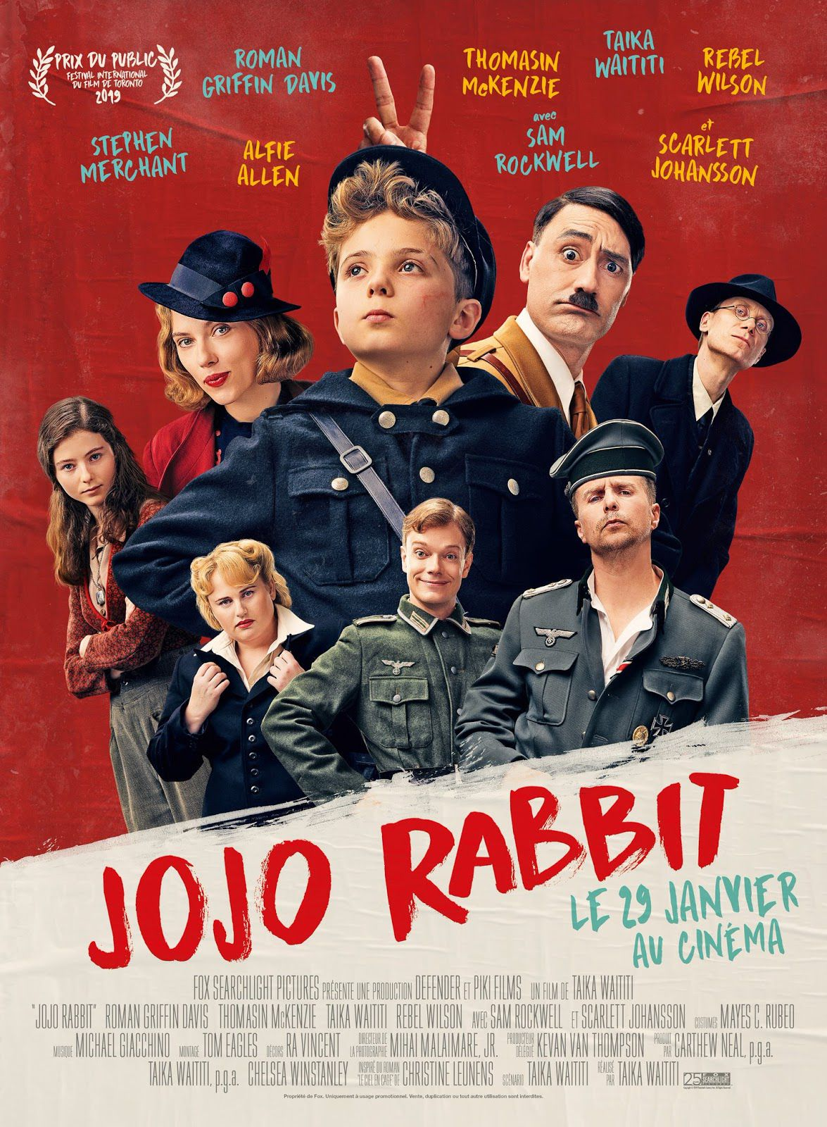 Jojo Rabbit - Film (2020) streaming VF gratuit complet