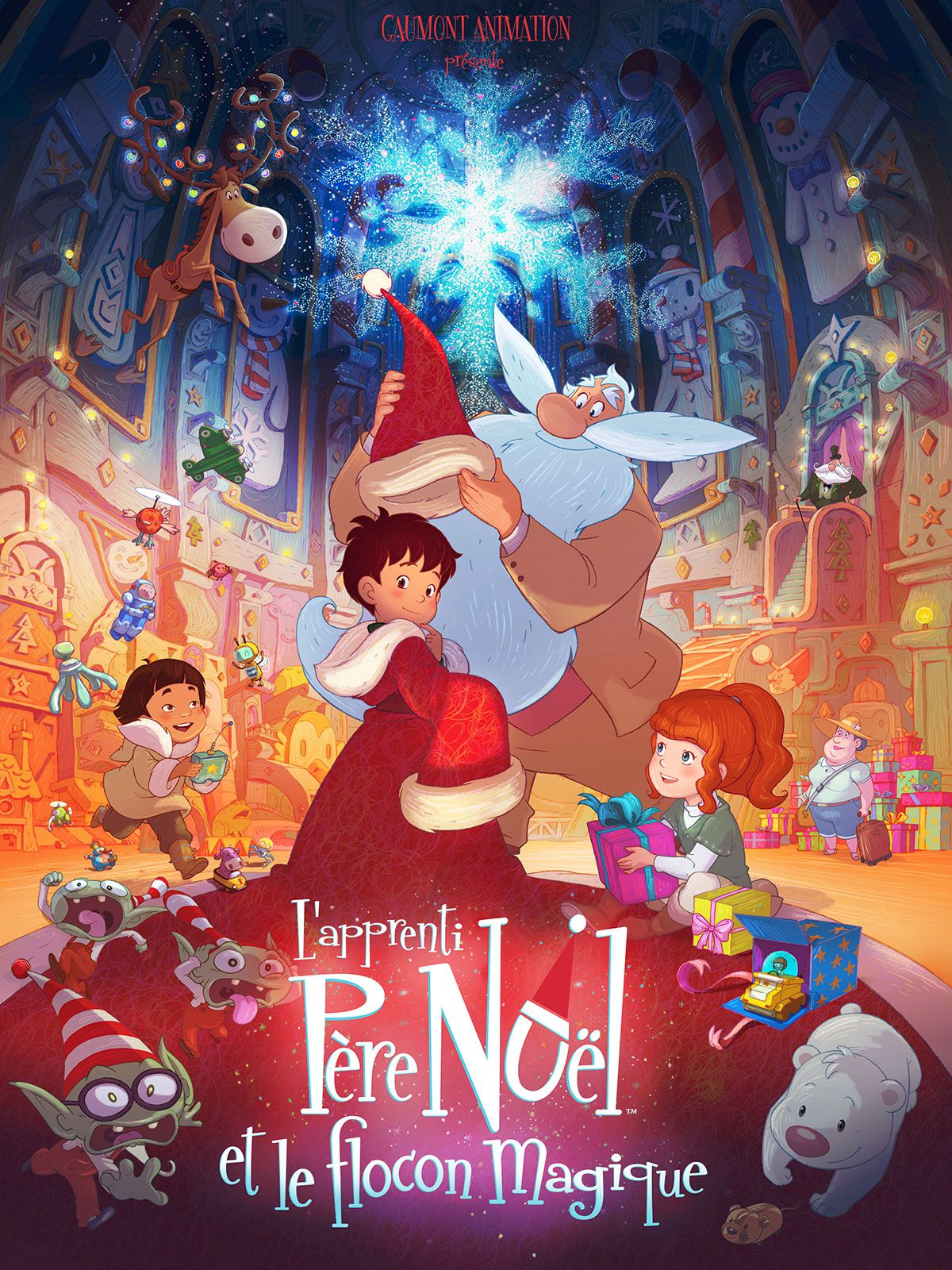 L'Apprenti Père Noël et le Flocon magique - Long-métrage d'animation (2013) streaming VF gratuit complet