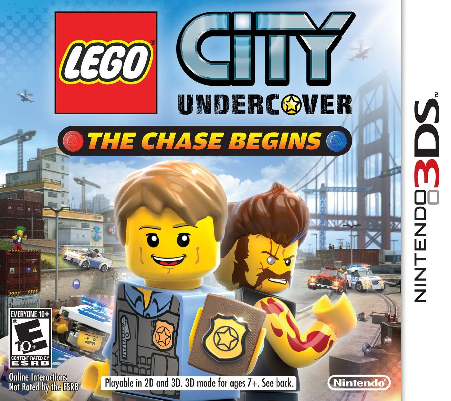 LEGO City Undercover : The Chase Begins (2013)  - Jeu vidéo streaming VF gratuit complet