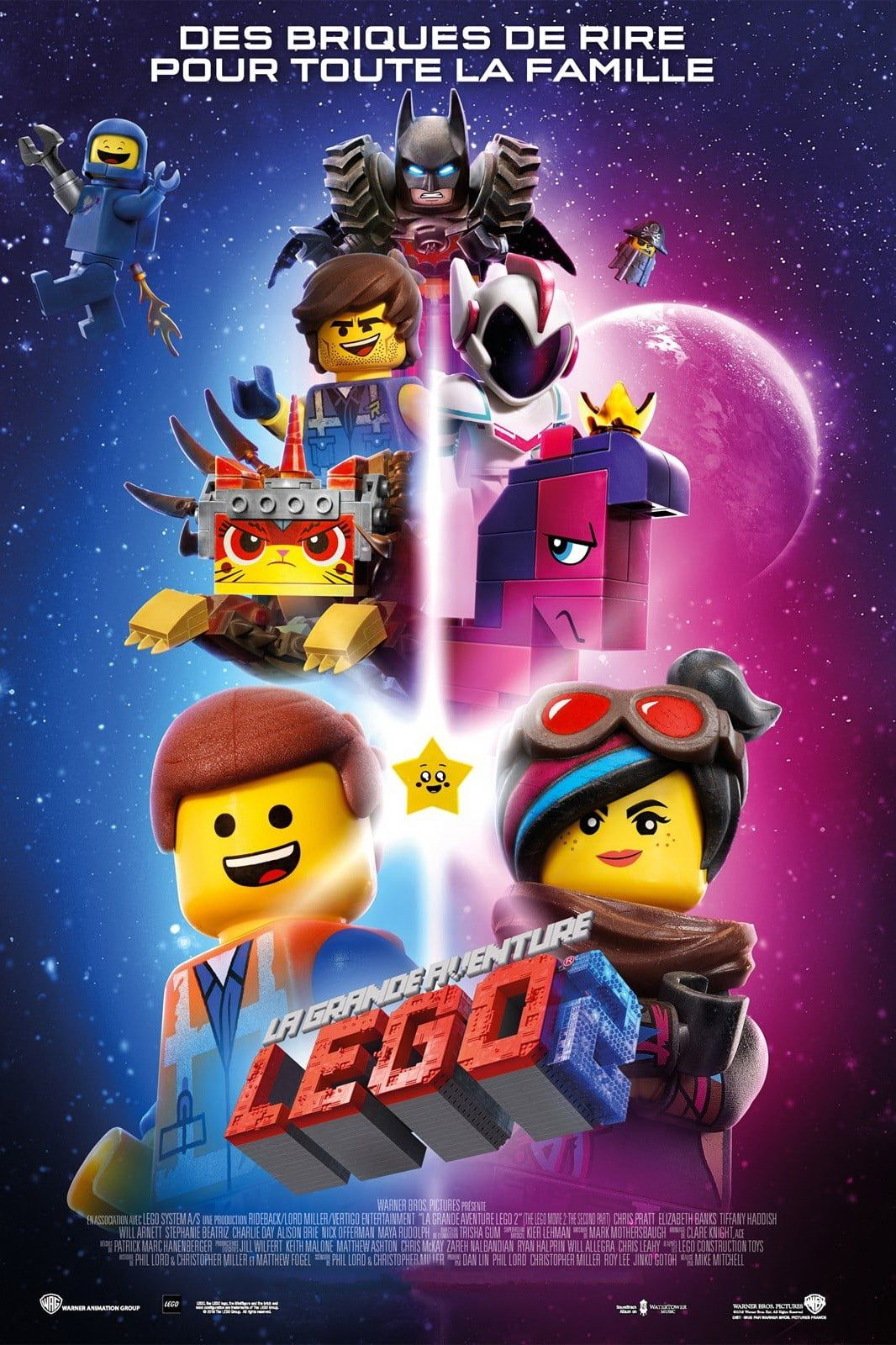 La Grande Aventure LEGO 2 - Long-métrage d'animation (2019) streaming VF gratuit complet