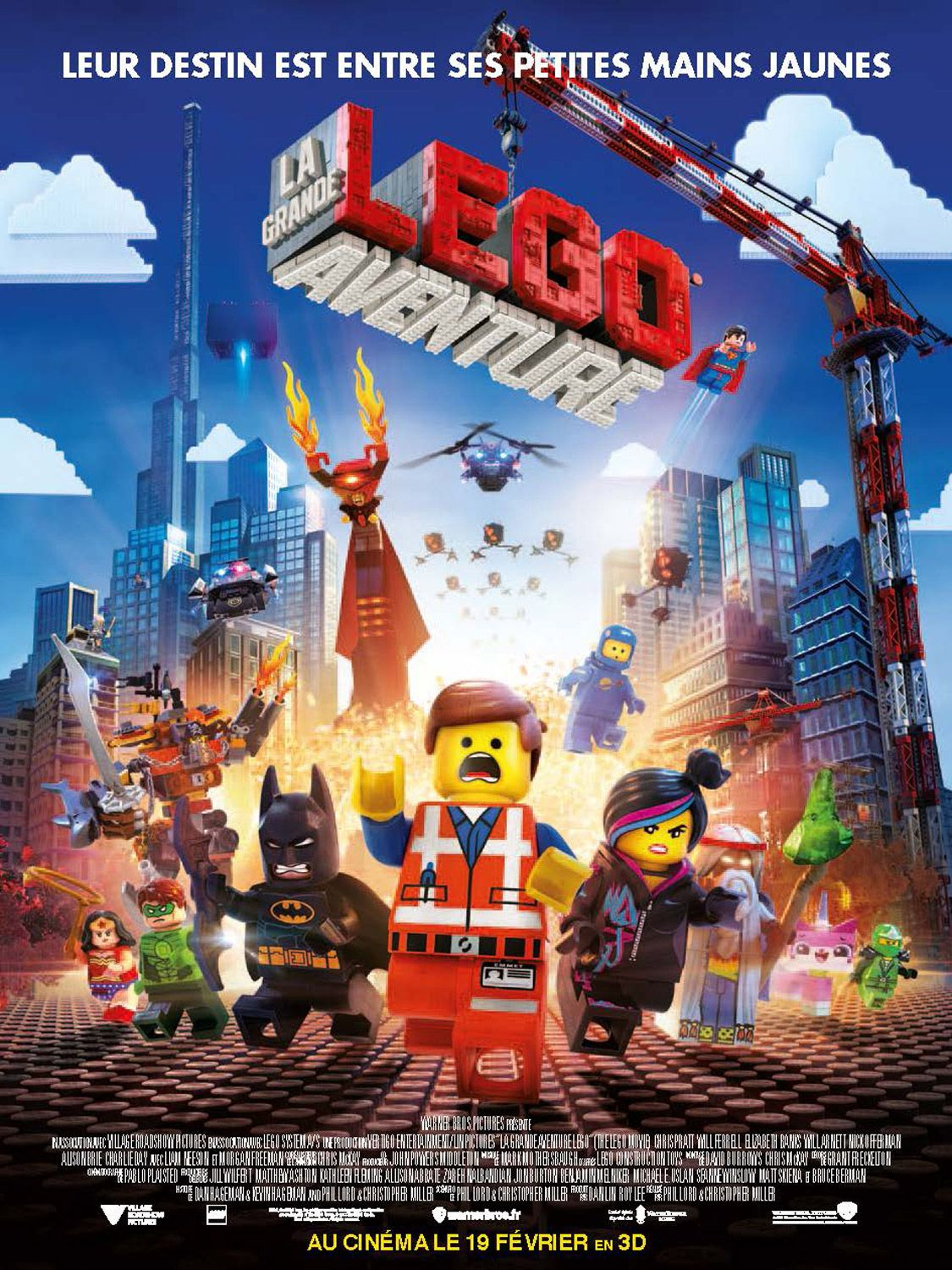 La Grande Aventure LEGO - Long-métrage d'animation (2014) streaming VF gratuit complet