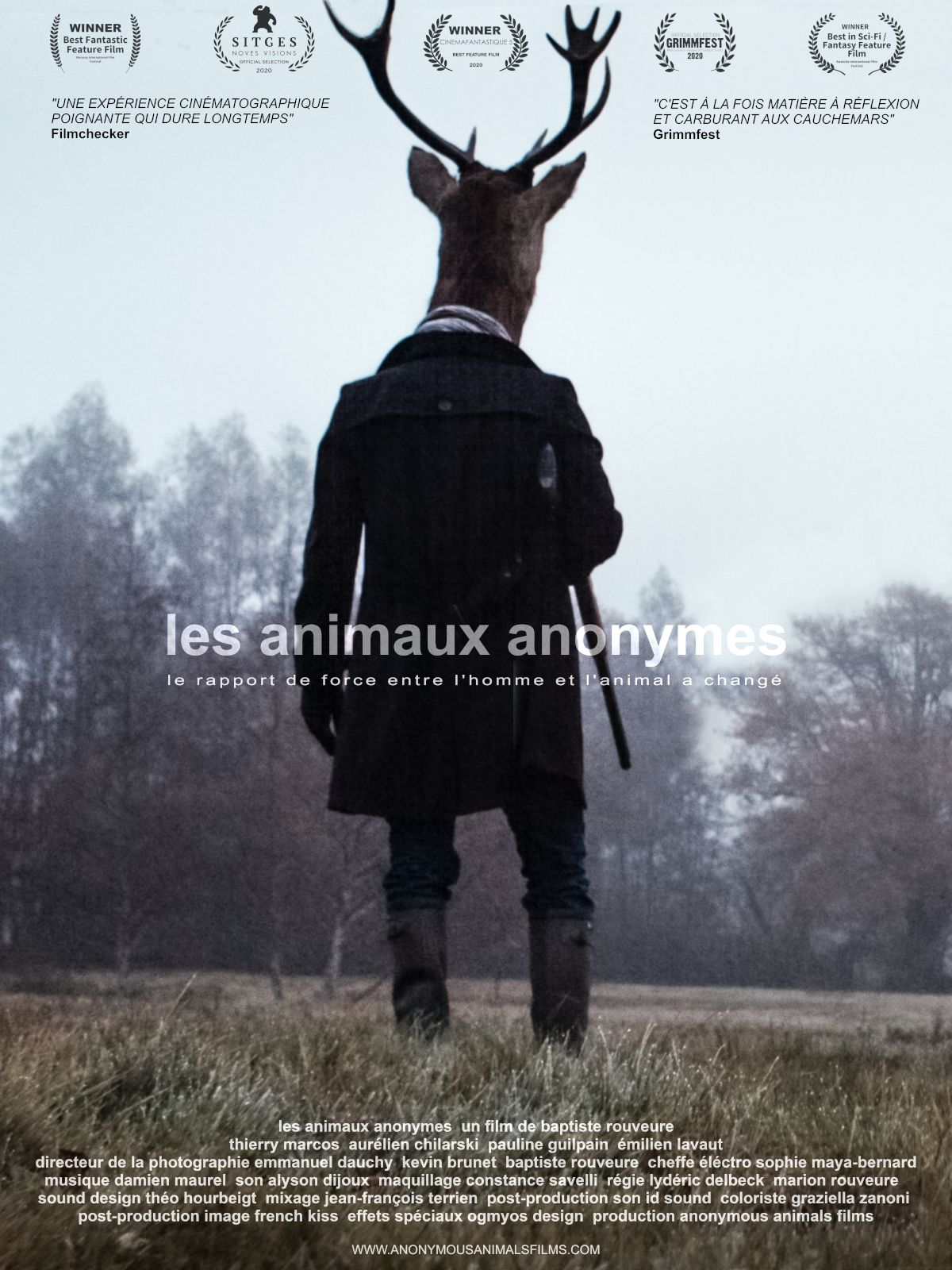 Les Animaux anonymes - Film (2021) streaming VF gratuit complet