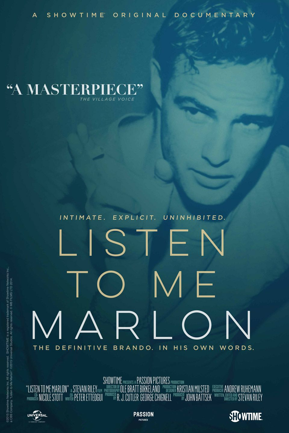 Listen to Me Marlon - Documentaire (2015) streaming VF gratuit complet