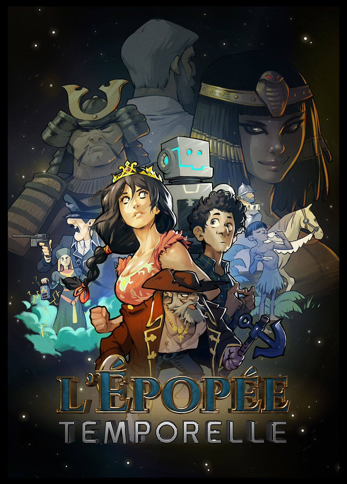 L'Épopée temporelle - Série audio (2017) streaming VF gratuit complet
