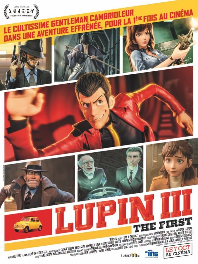 Lupin III : The First - Long-métrage d'animation (2020) streaming VF gratuit complet
