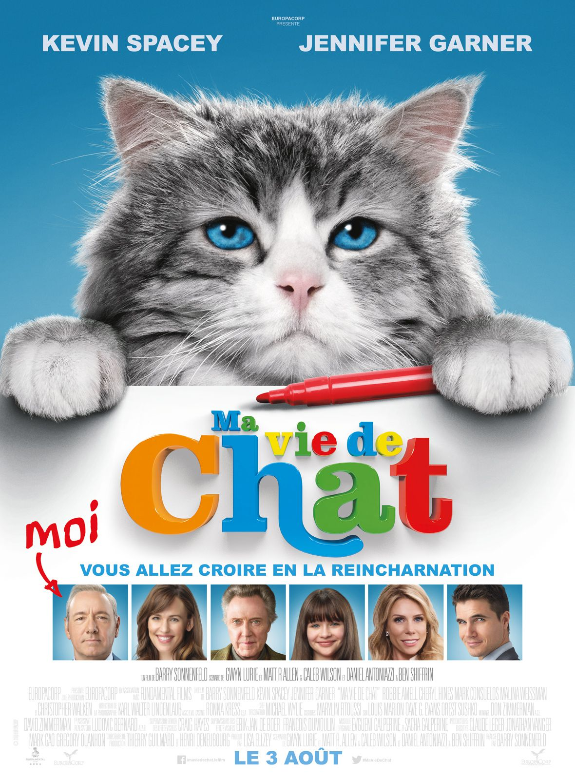 Ma vie de chat - Film (2016) streaming VF gratuit complet
