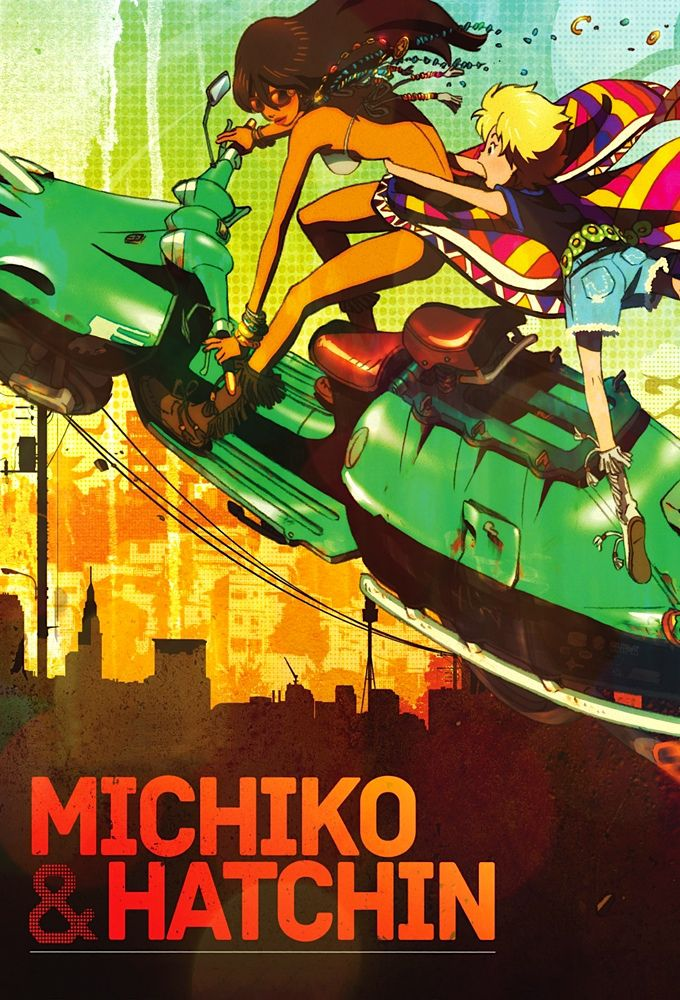 Michiko to Hacchin - Anime (2008) streaming VF gratuit complet