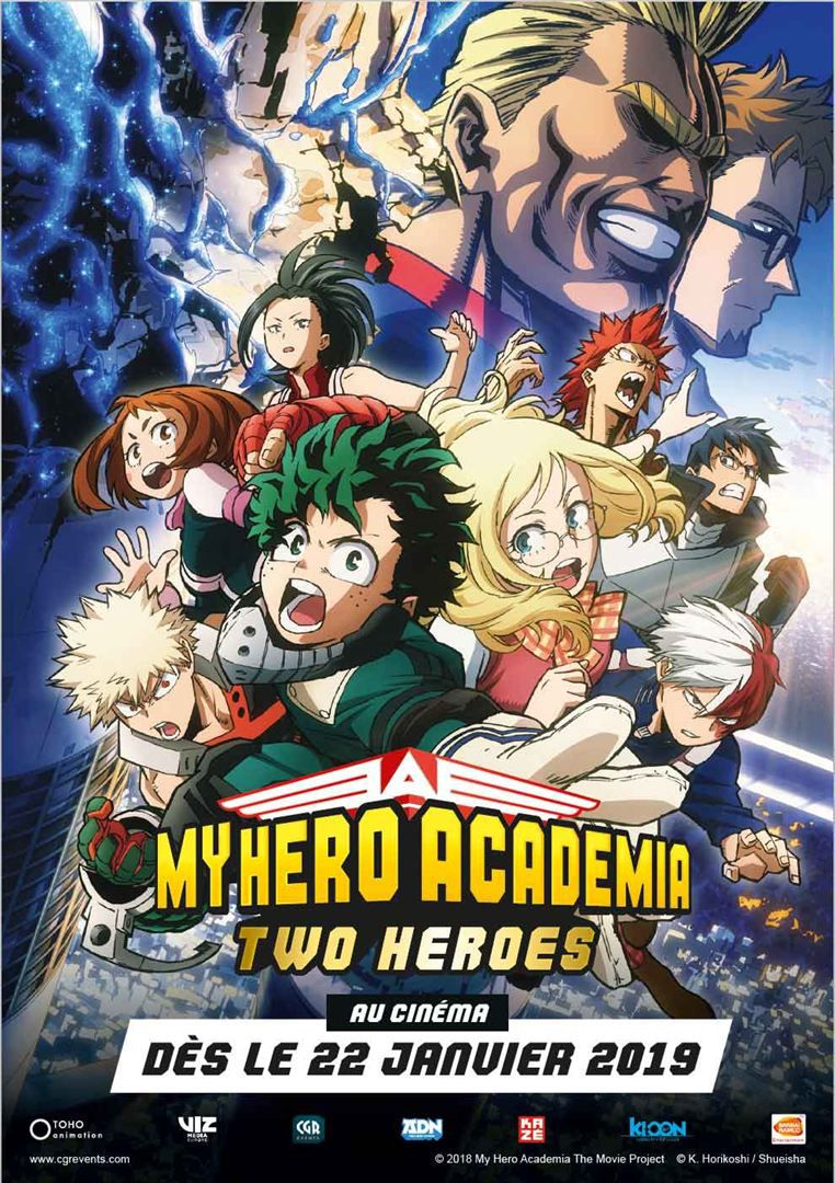 My Hero Academia The Movie: The Two Heroes - Long-métrage d'animation (2019) streaming VF gratuit complet
