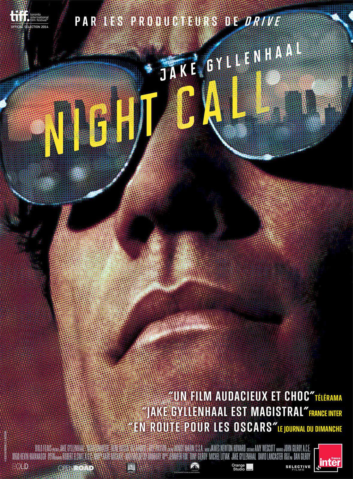 Night Call - Film (2014) streaming VF gratuit complet