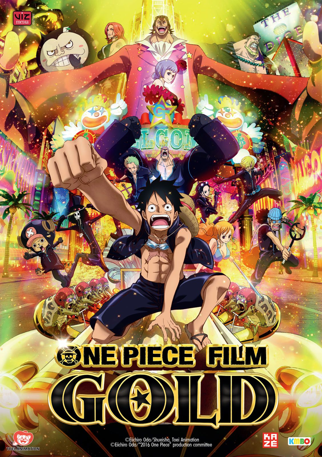 One Piece : Gold - Long-métrage d'animation (2016) streaming VF gratuit complet
