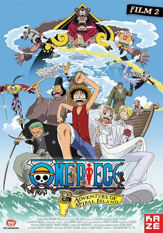 One Piece : L'Aventure de l'île de l'horloge - Long-métrage d'animation (2001) streaming VF gratuit complet