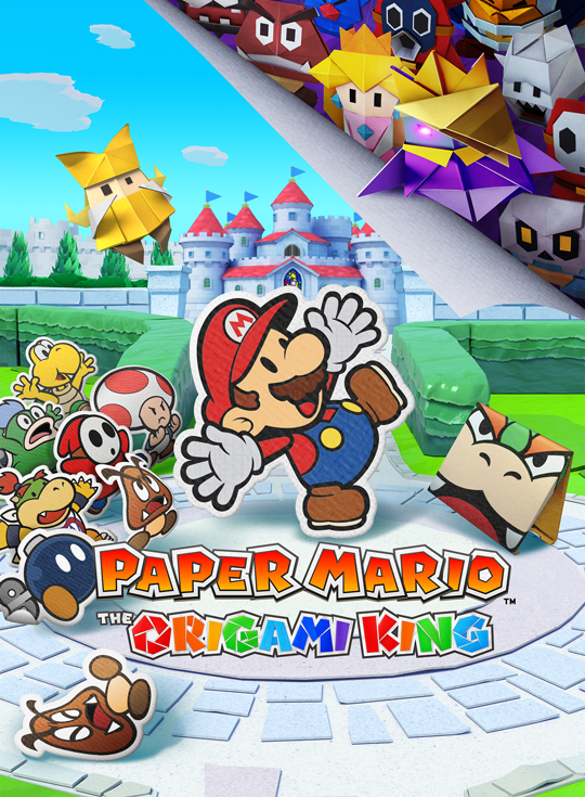 Paper Mario : The Origami King (2020)  - Jeu vidéo streaming VF gratuit complet