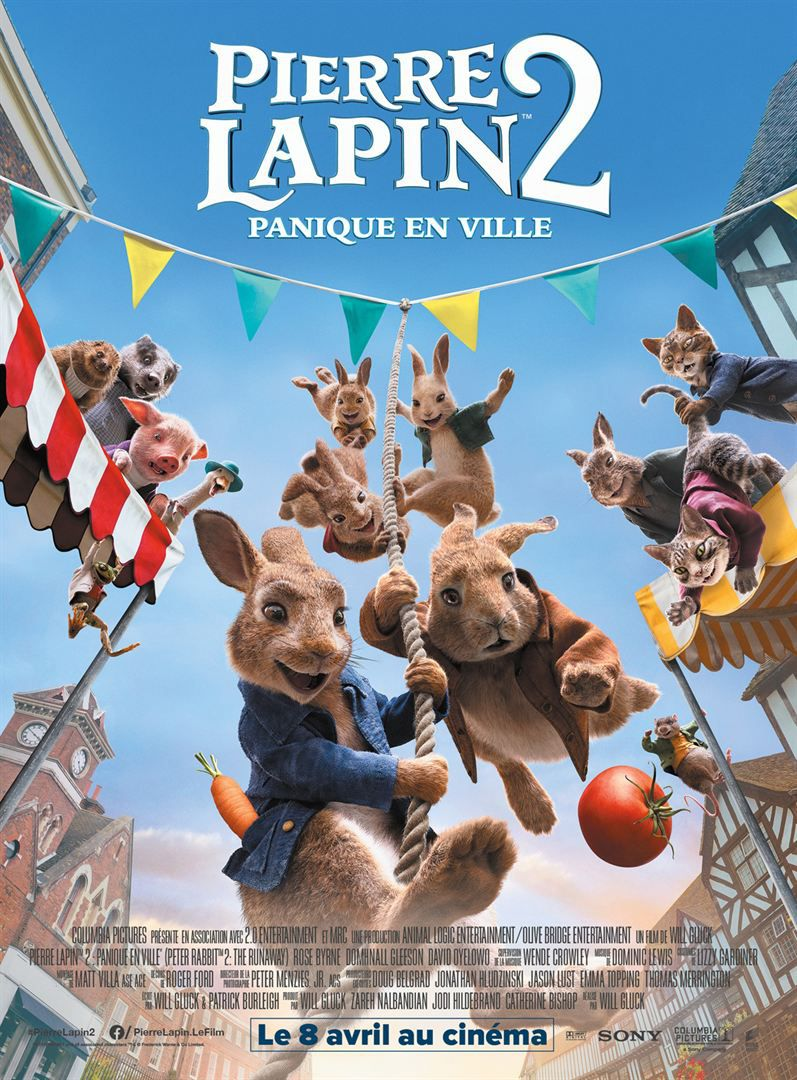 Voir Film Pierre Lapin 2 : Panique en ville - Long-métrage d'animation (2021) streaming VF gratuit complet