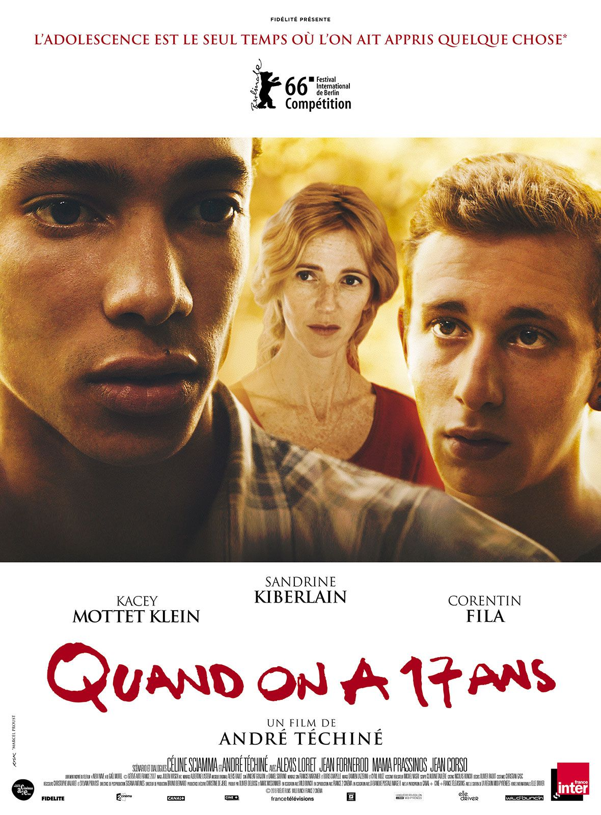 Quand on a 17 ans - Film (2016) streaming VF gratuit complet