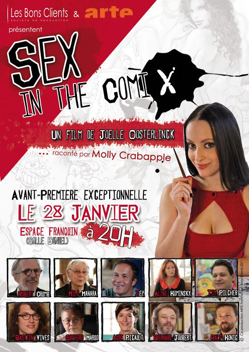 Sex in the ComiX - Documentaire (2012) streaming VF gratuit complet