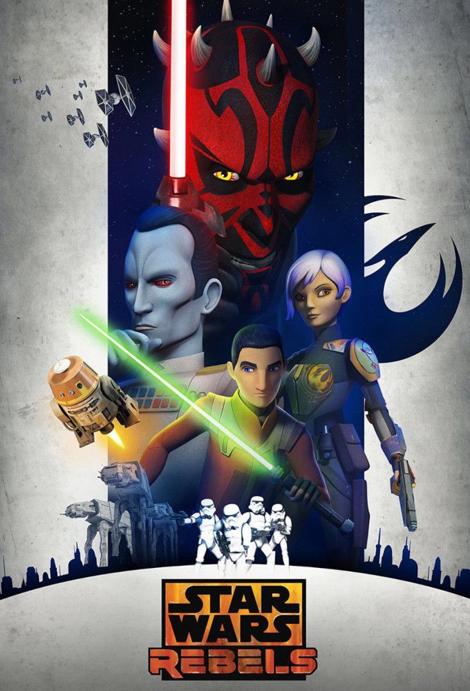 Star Wars : Rebels - Dessin animé (2014) streaming VF gratuit complet