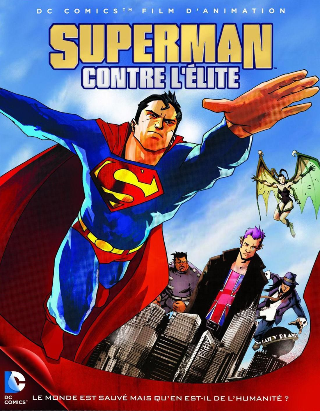 Superman contre l'Élite - Long-métrage d'animation (2012) streaming VF gratuit complet