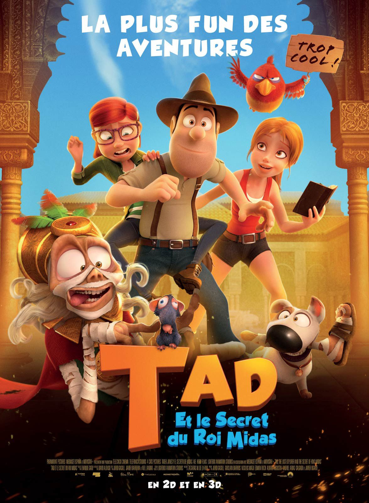 Tad et le secret du roi Midas - Long-métrage d'animation (2018) streaming VF gratuit complet