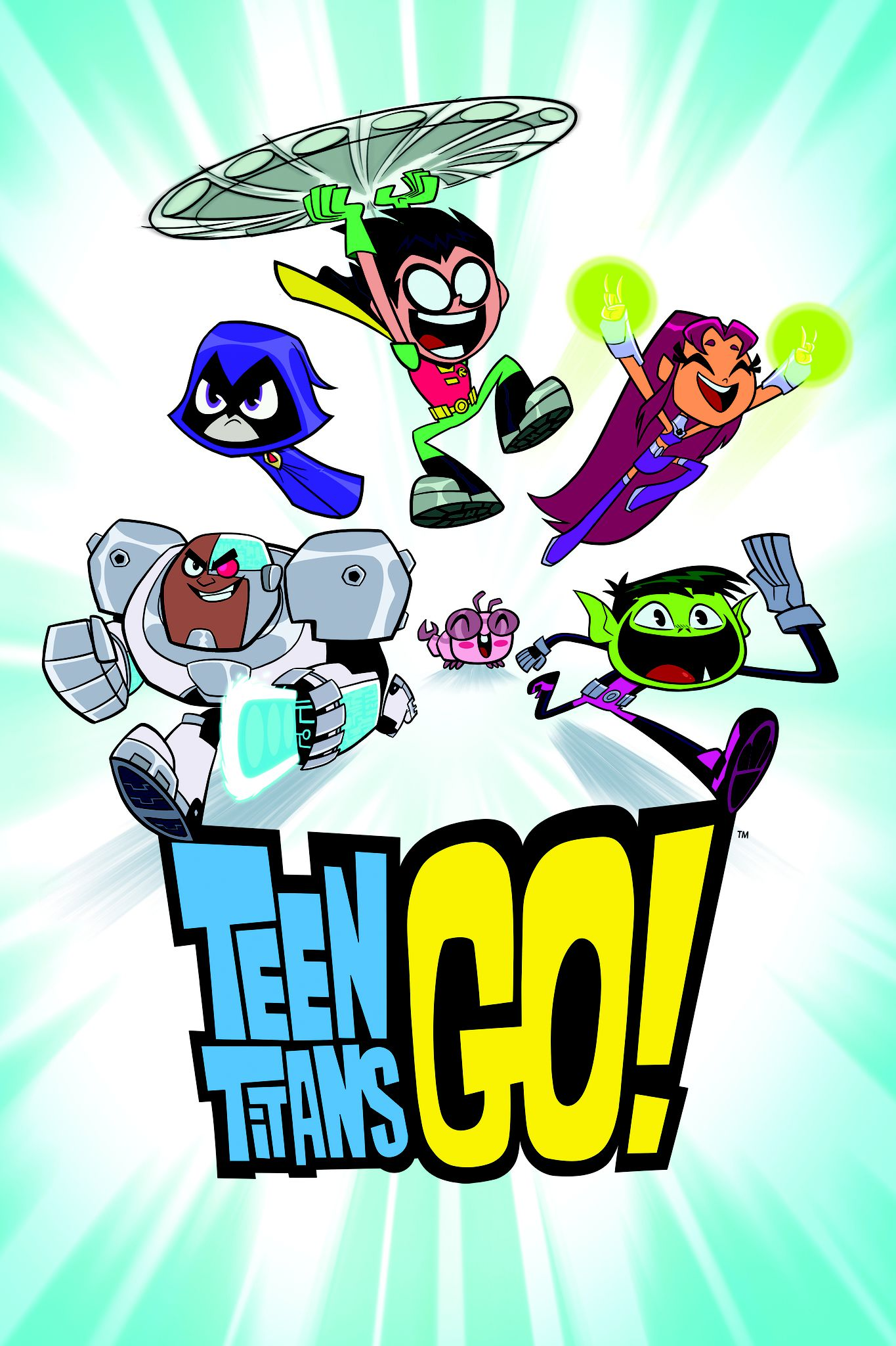 Teen Titans Go! - Anime (2013) streaming VF gratuit complet