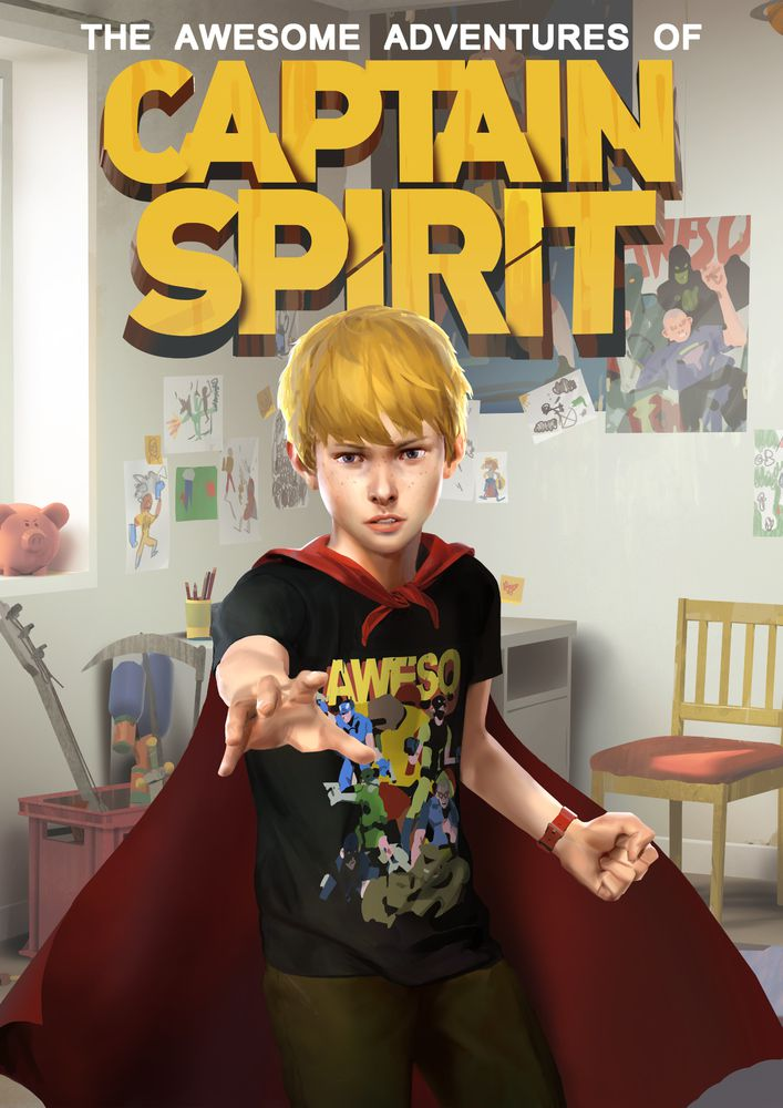 The Awesome Adventures of Captain Spirit (2018)  - Jeu vidéo streaming VF gratuit complet