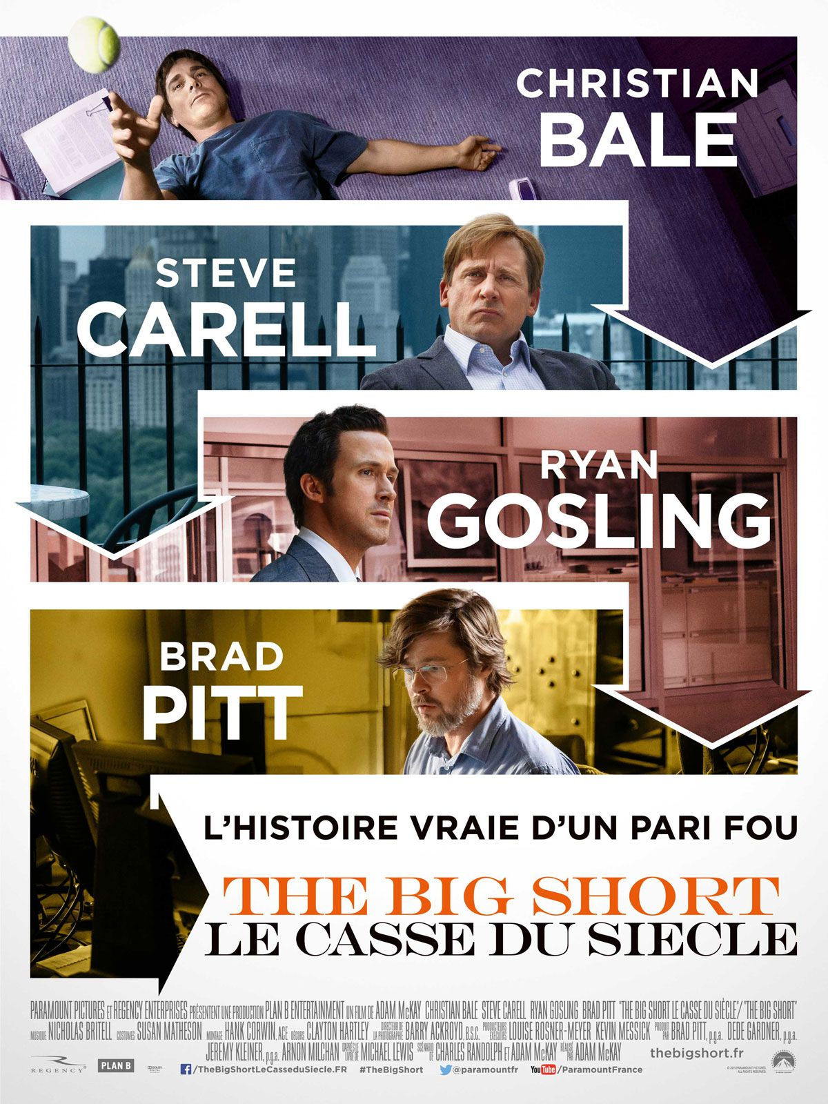 The Big Short : Le Casse du siècle - Film (2015) streaming VF gratuit complet
