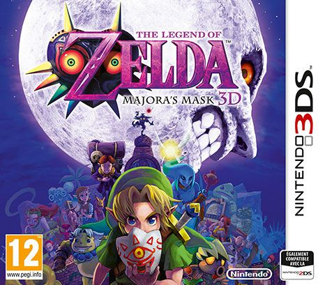 Film The Legend of Zelda : Majora's Mask 3D (2015)  - Jeu vidéo