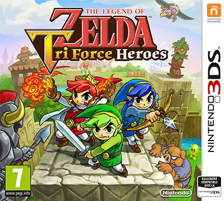 The Legend of Zelda : Tri Force Heroes (2015)  - Jeu vidéo streaming VF gratuit complet