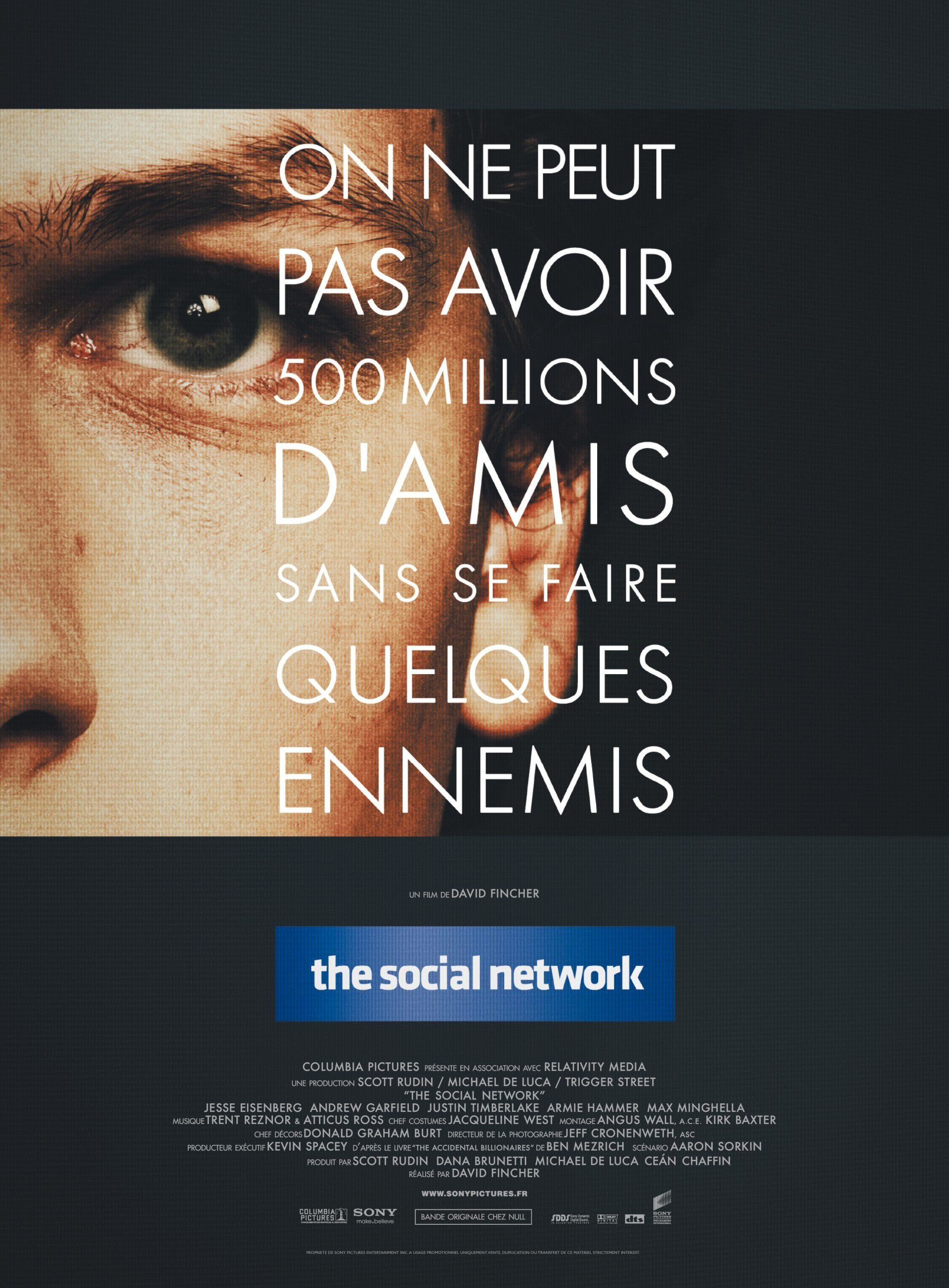 The Social Network - Film (2010) streaming VF gratuit complet