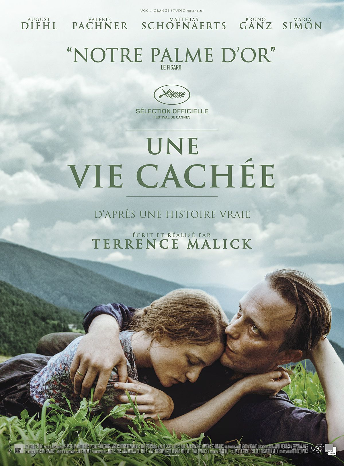 Une vie cachée - Film (2019) streaming VF gratuit complet