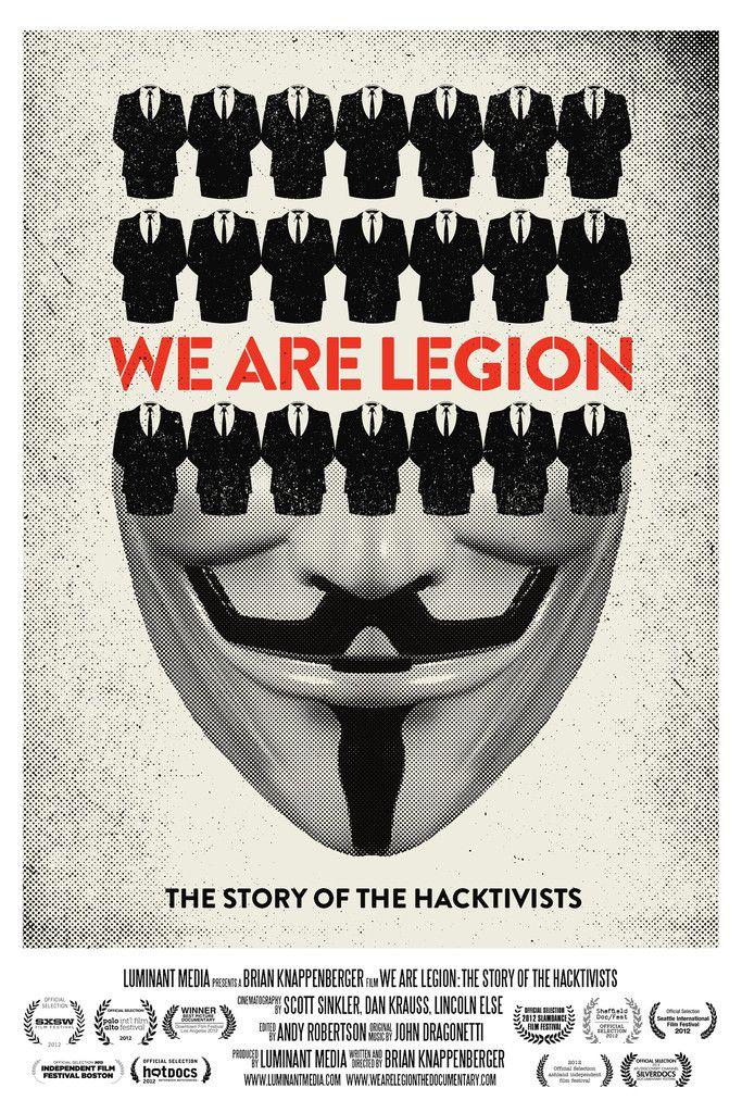 We Are Legion: The Story of the Hacktivists - Documentaire (2012) streaming VF gratuit complet